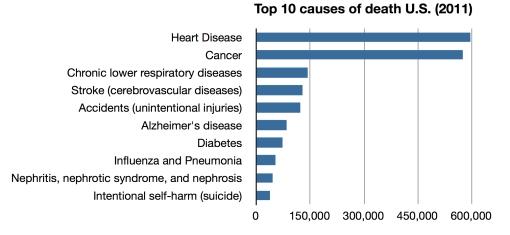 U.S. death stats